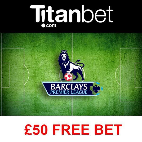 Claim up to £50 in free bets with Titanbet! Claim your free bet now!