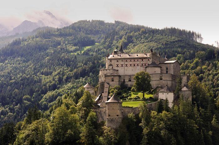 Österreich, Burg Hohenwerfen