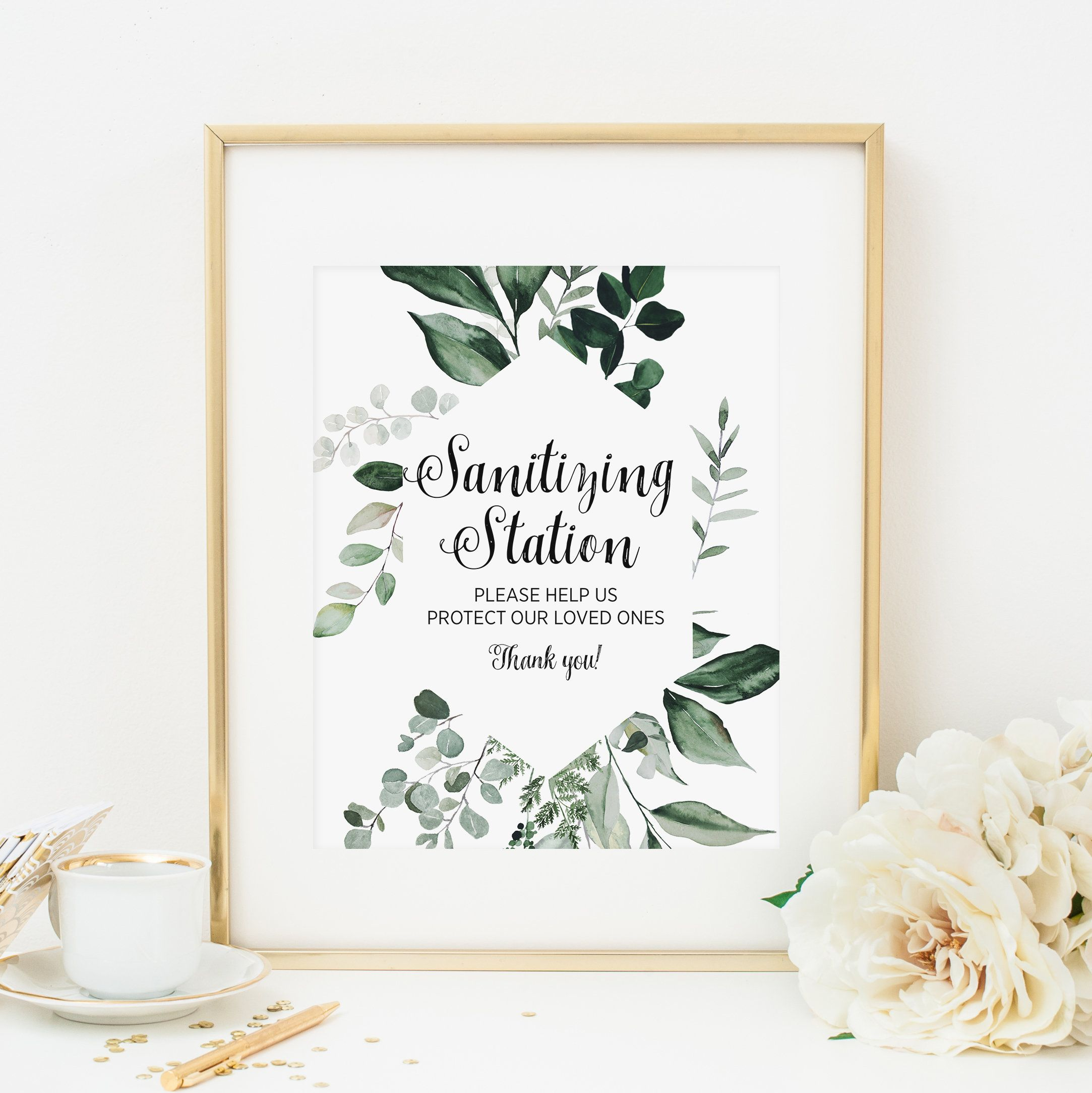 Christmas Bridal Shower Decor Party Decor 8x10 Forest Baby Shower Decoration Winter Evergreen Welcome Sign Editable Corjl Template 110