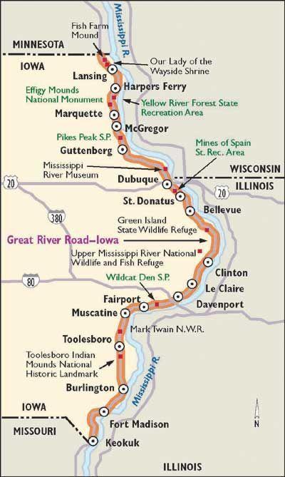 Scenic Drive in Iowa: Great River Road   Things to do in Iowa ... on oelwein iowa state map, cresco iowa state map, des moines iowa state map, ankeny iowa state map, dubuque iowa state map, walcott iowa state map, burlington iowa state map, grinnell iowa state map, ames iowa state map,