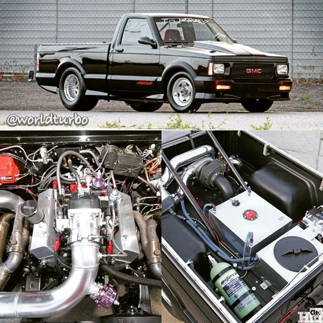 1991 Gmc Syclone 262cid V6 88mm Precision Turbo Gmc Pickup