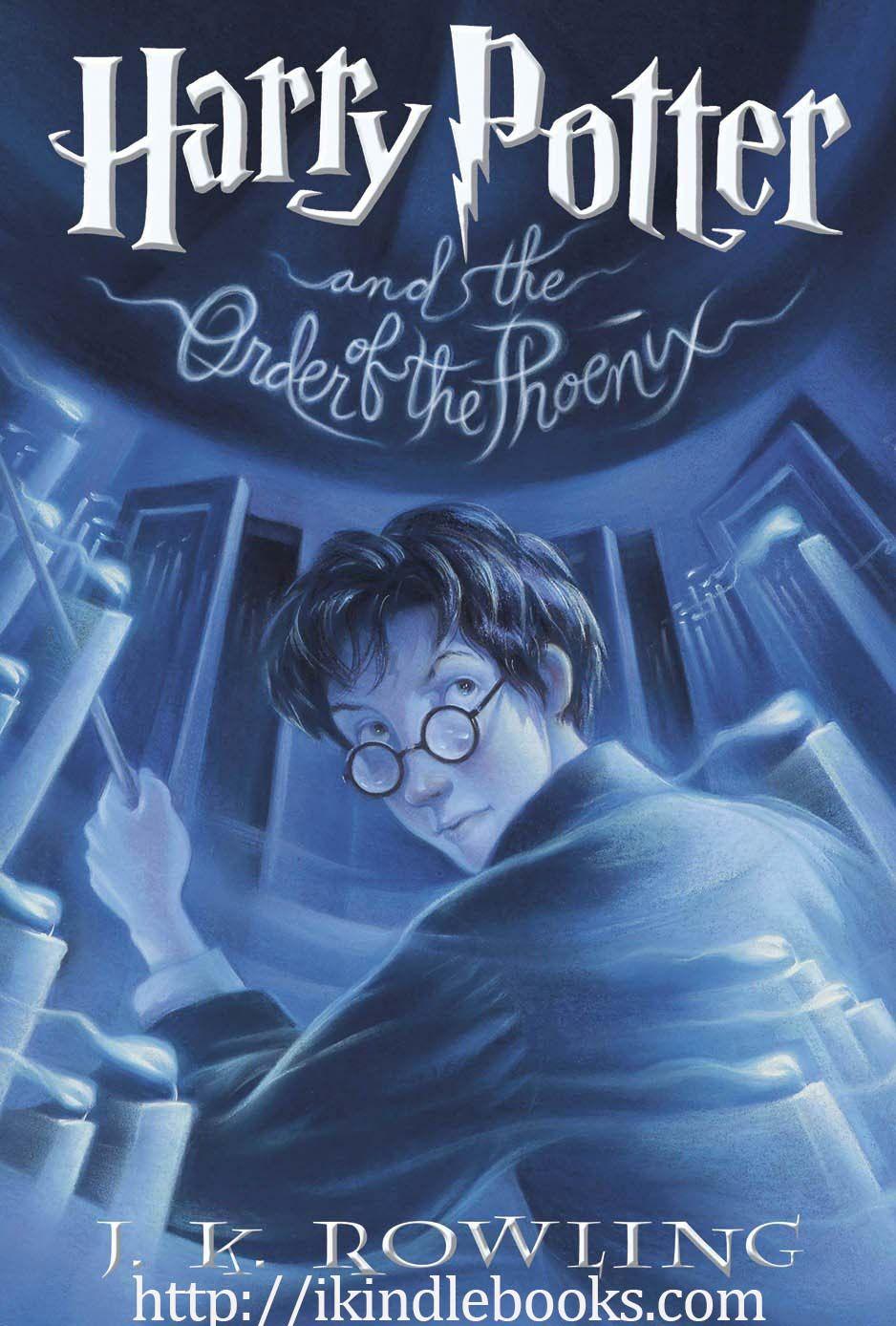 Harry Potter Series Full 7 Ebook By J K Rowling Harry Potter Book 5 Harry Potter Book Covers Kids Book Series