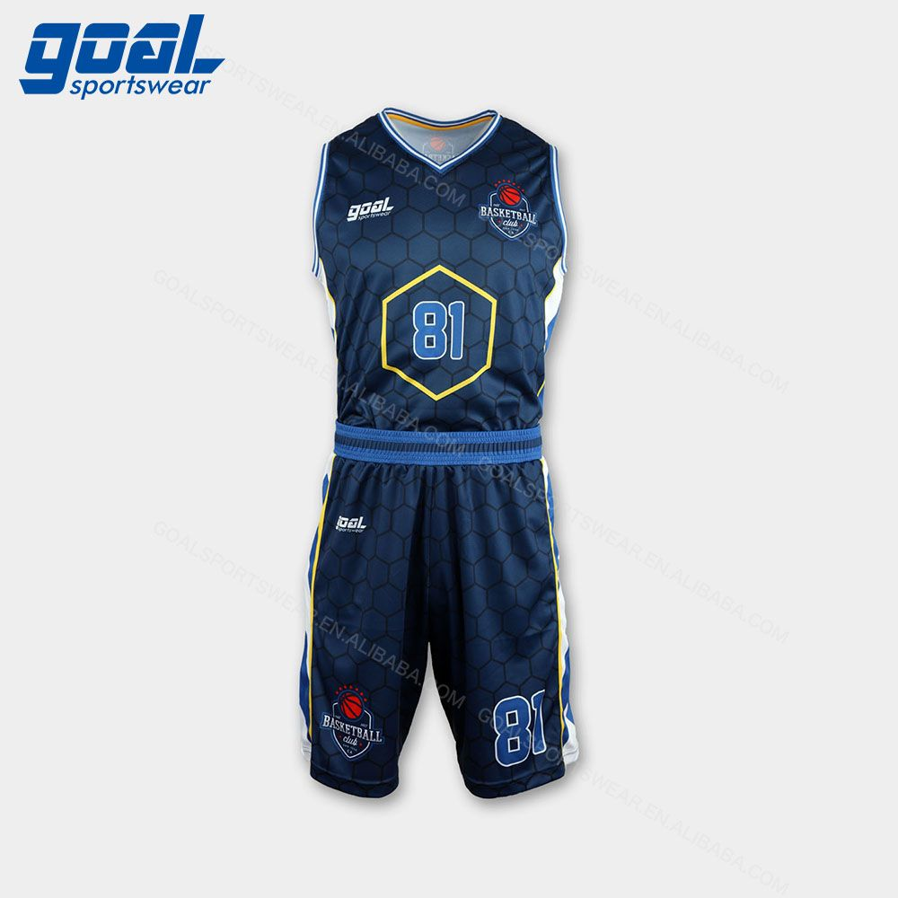 adf529258de Wholesale Sky Blue latest basketball jersey design 2018