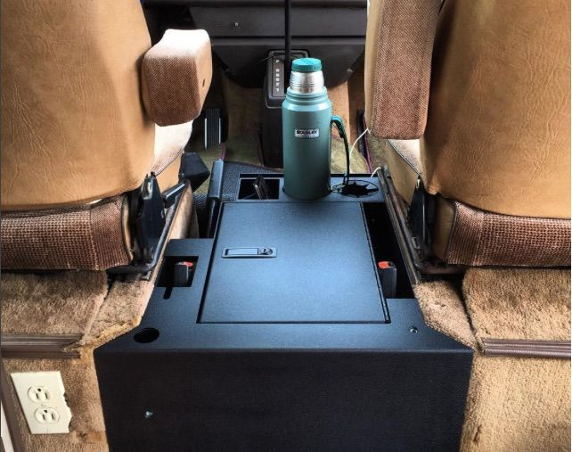 This Is A New Locking Steel Center Console By Vanagonlife For Your
