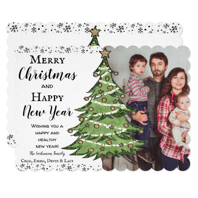 Christmas Photo Card Holiday Family Card