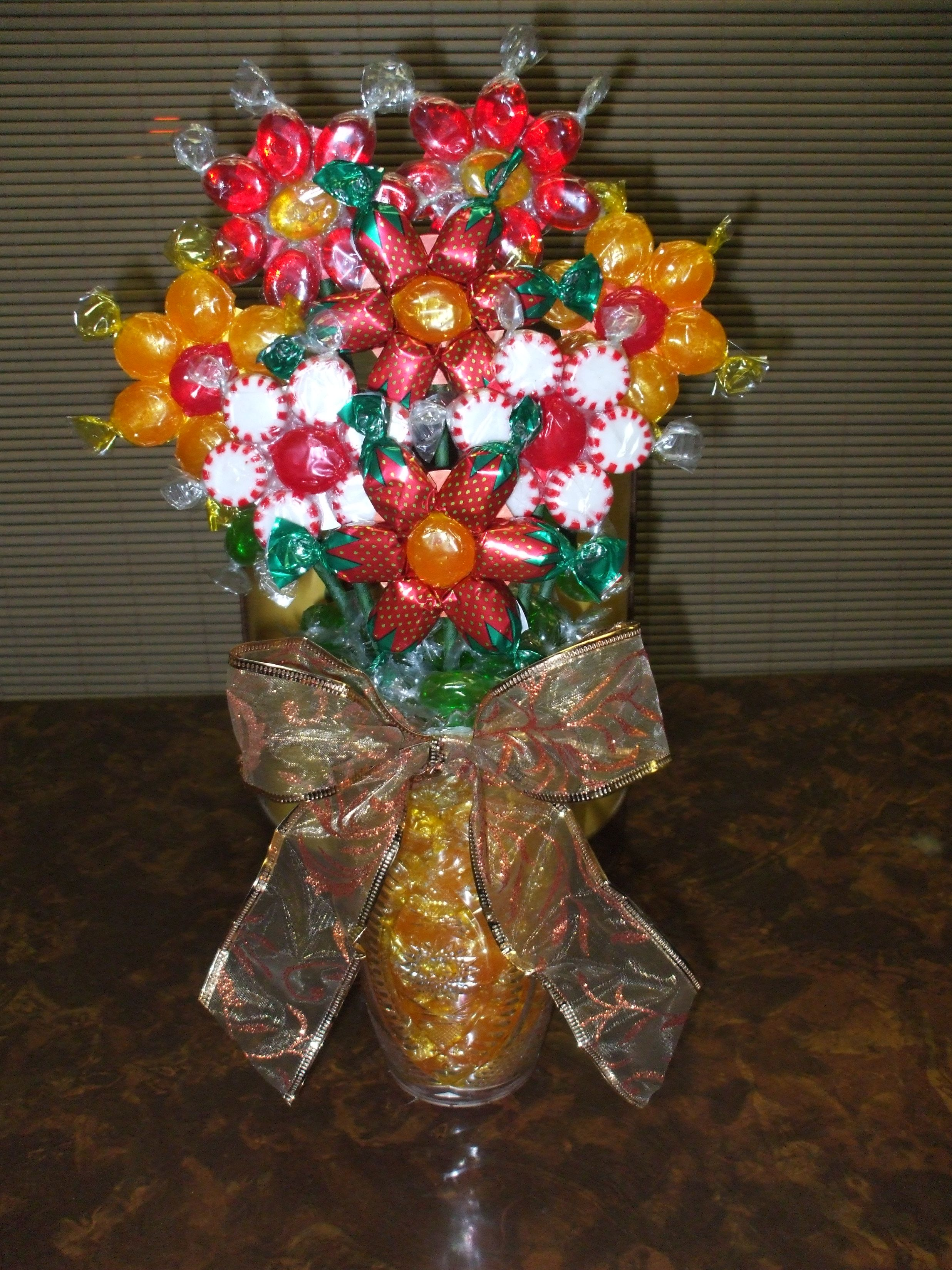 Candy flower bouquet i made.... Lisa | things i made! | Pinterest ...
