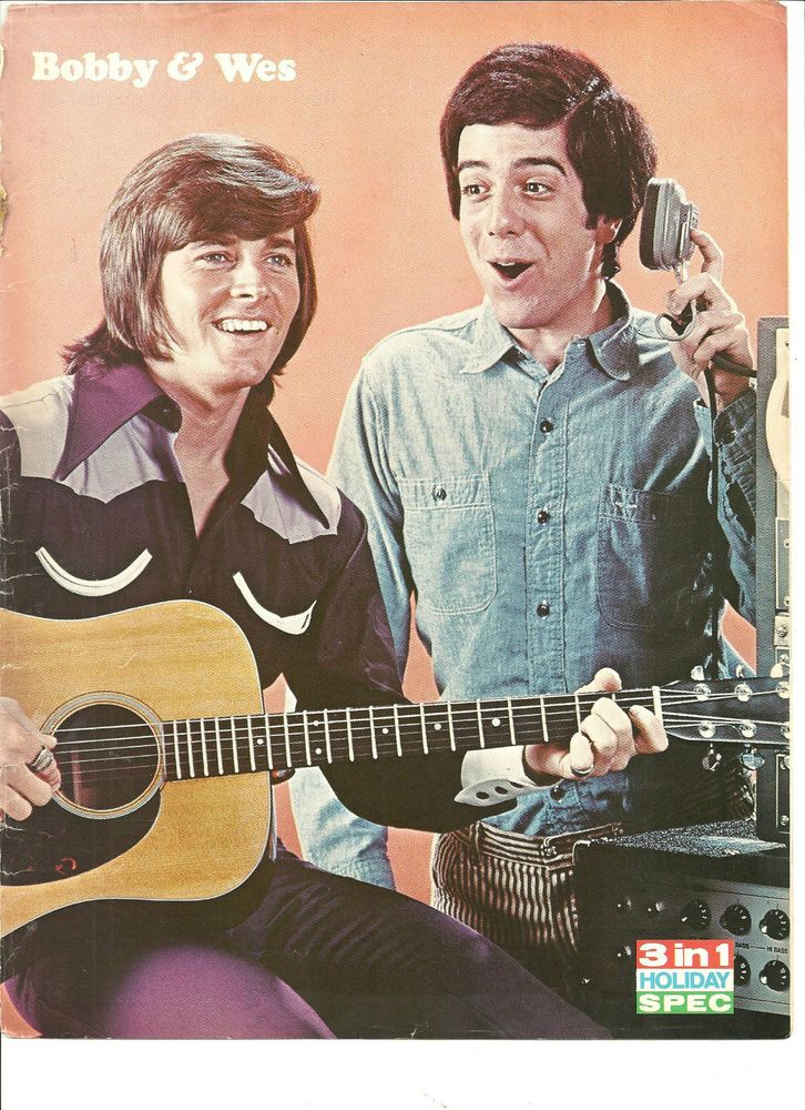 Bobby Sherman and Wes Stern, The Osmonds, Double Sided Full Page Vintage Pinup