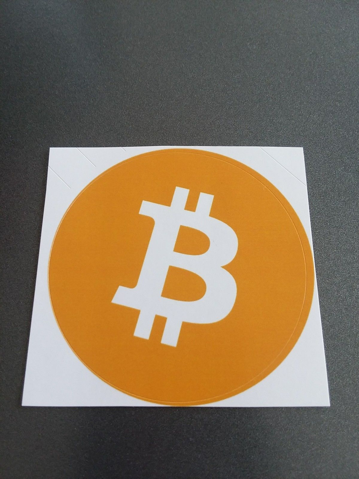 The Official Bitcoin Sticker With Free Shipping