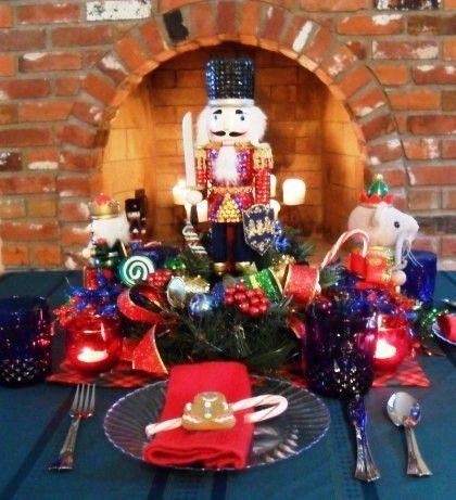 Christmas Kids Tablescape - Nutcracker - Party Planning - Party Ideas - Cute Food - Holiday Ideas -Tablescapes - Special Occasions And Events - Party Pinching