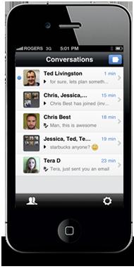 Family texting app