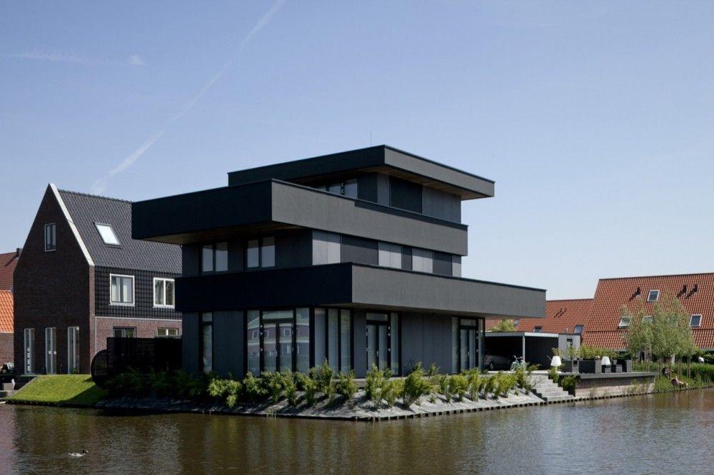 Modern villa bbvh architecten dakterras pinterest