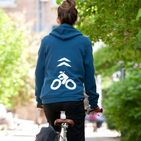 """Terry Women's Cycling Commuter Hoodie 