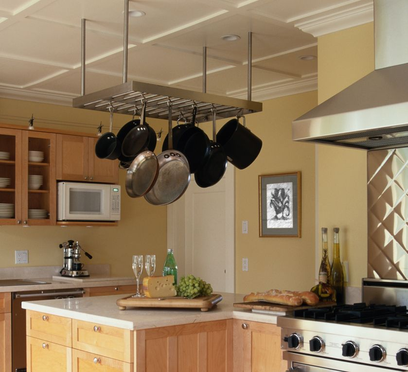 Very Nice Rack For Hanging Pots And Pans. Clean, Sturdy, And Visually  Appealing