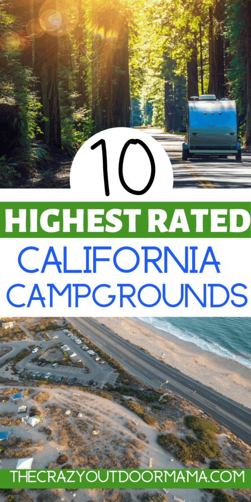 10 Of The Highest Rated Rv Parks In California In 2020 National Parks Trip Crystal Cove State Park California Camping
