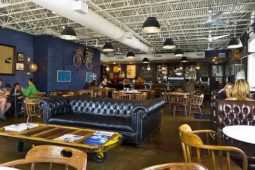 Stop By One Of The Heights Hippest Restaurants Down House Houston For A Taste Chef Driven Brunch Menu Along With Specialty Coffee Or Tail