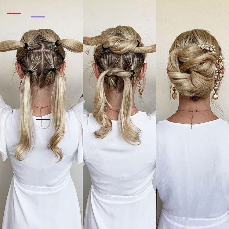 Updotutorial In 2020 Long Hair Updo Scarf Hairstyles Elegant Wedding Hair