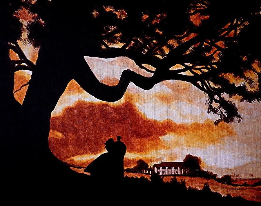 Image result for gone with the wind painting