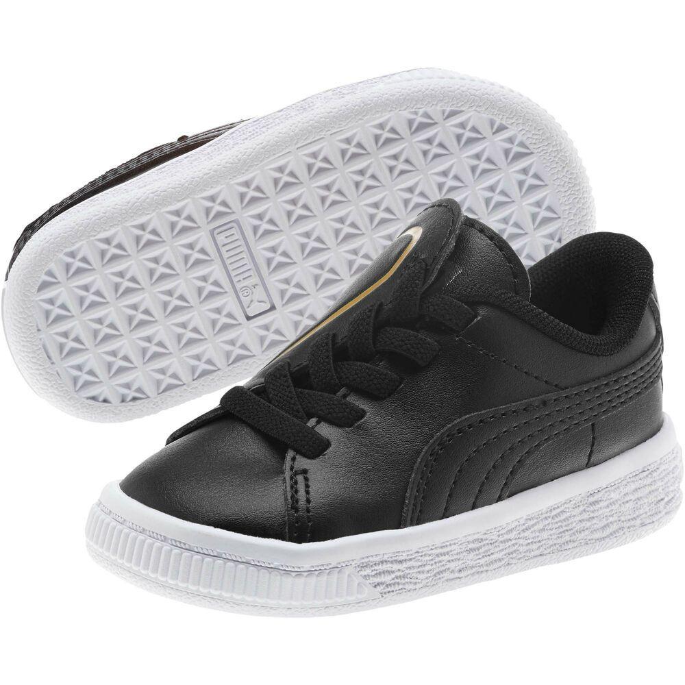 b88a7c789915 (eBay Sponsored) PUMA Basket Crush AC Sneakers INF Girls Shoe Kids New