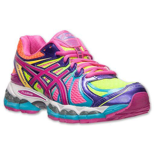 asics gel nimbus running shoes womens