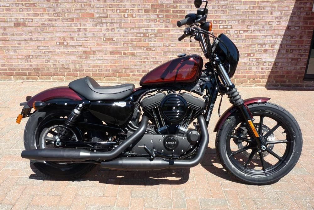 eBay: NEW 2018 XL1200NS Sportster Iron 1200 in Twisted