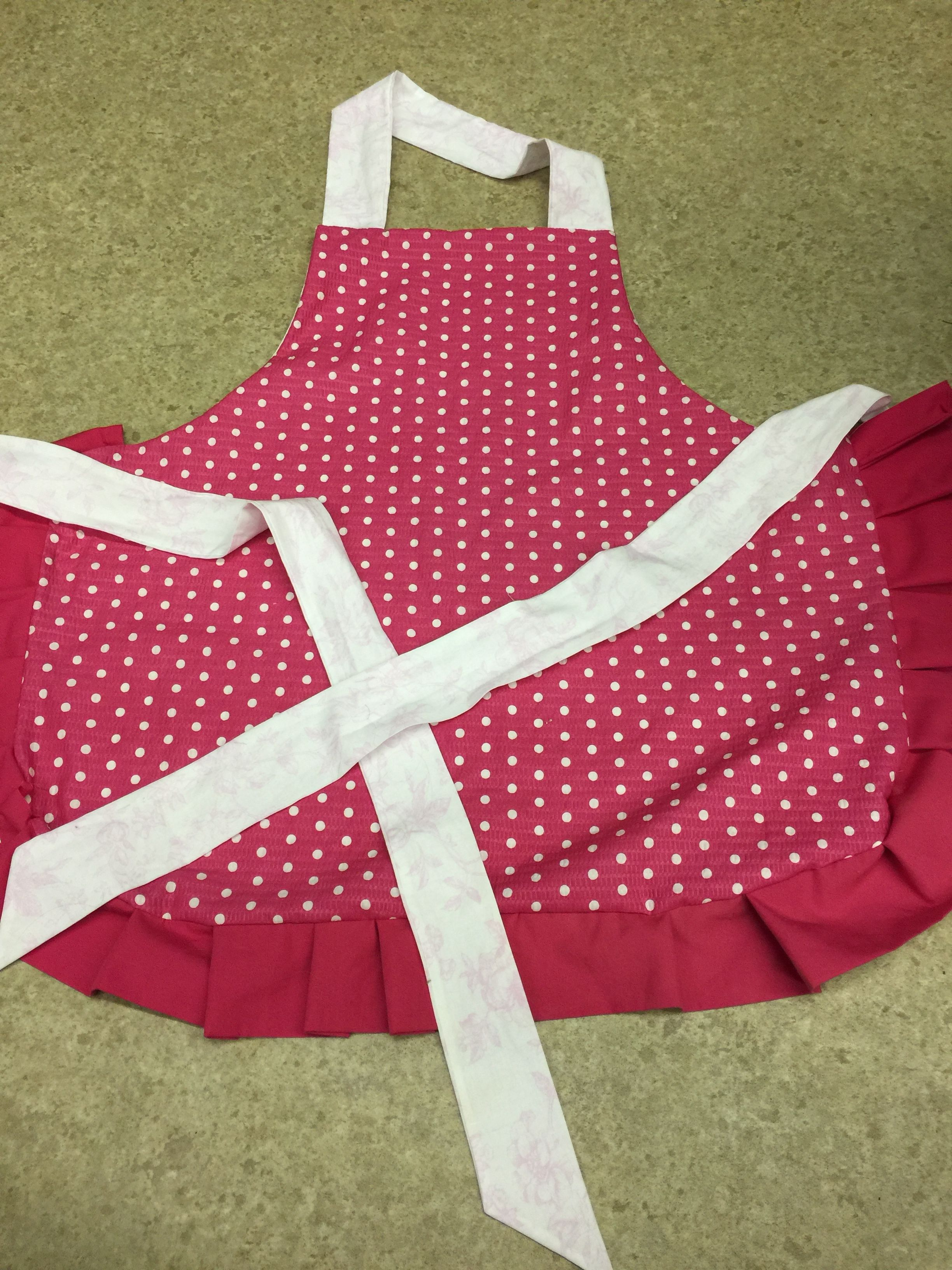 Apron with Ruffles