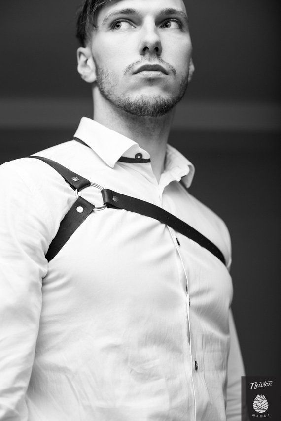 Men Leather Harness,BodyHarness Men,Chest Harness, harness ...
