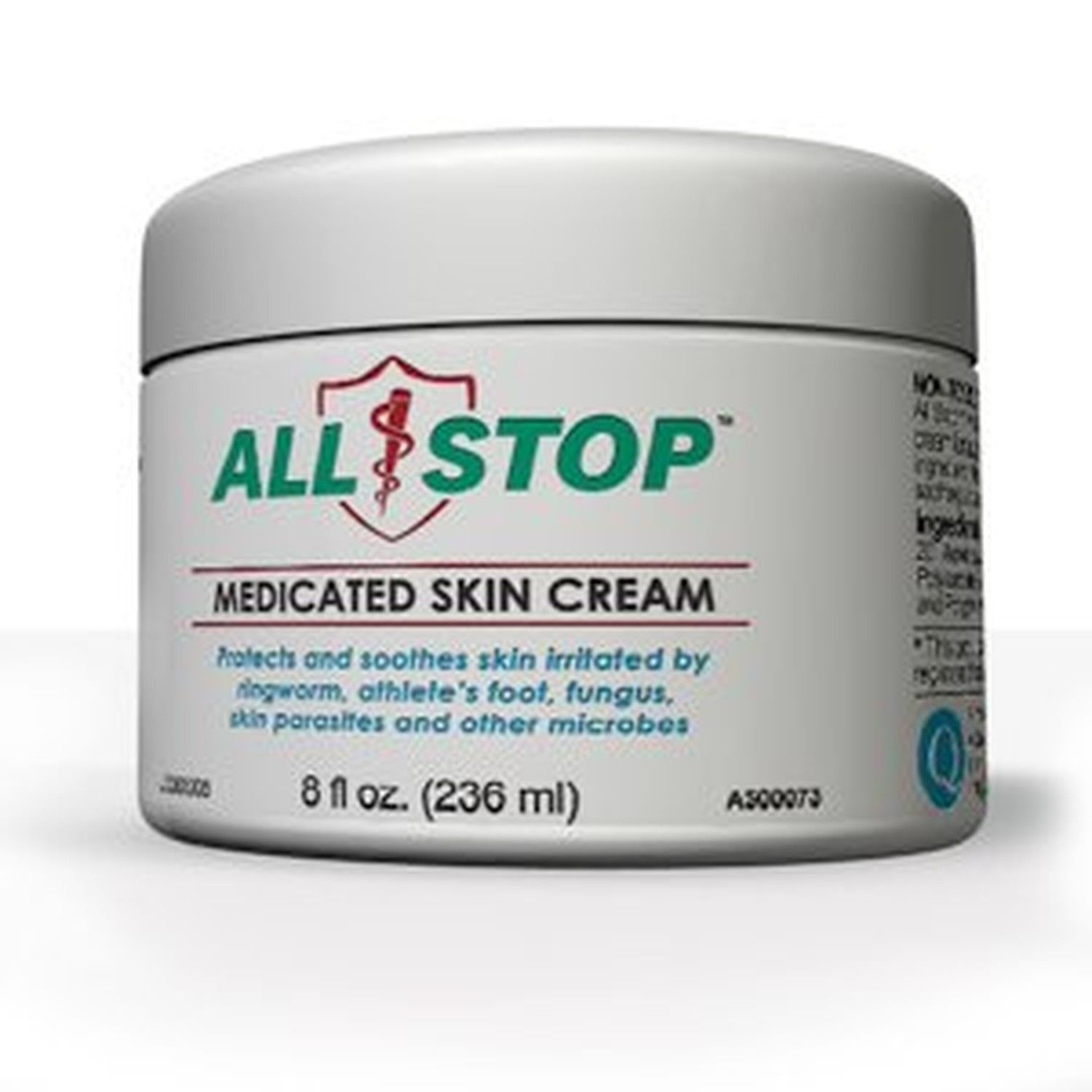 Medicated Skin Cream [8 Oz] Antifungal Healing Cream For