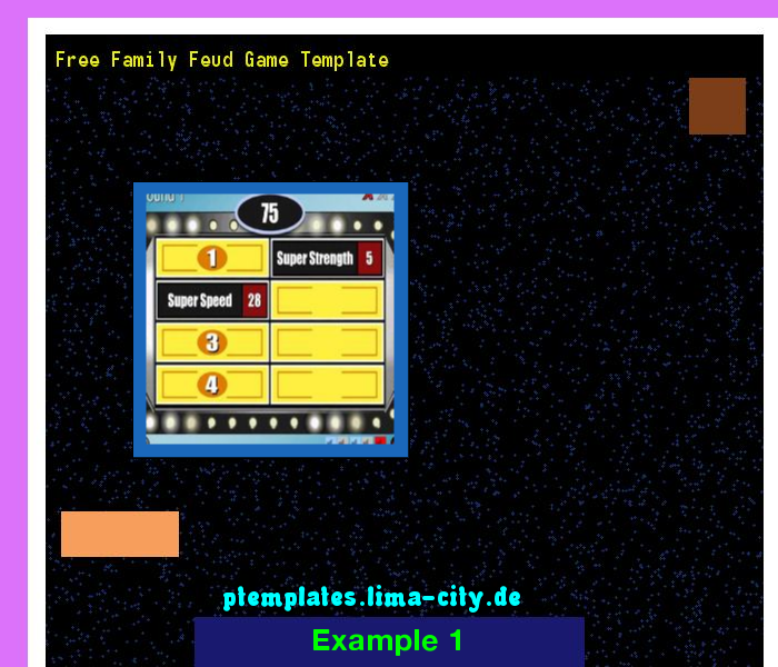 free family feud game template powerpoint templates 134328 the best image search