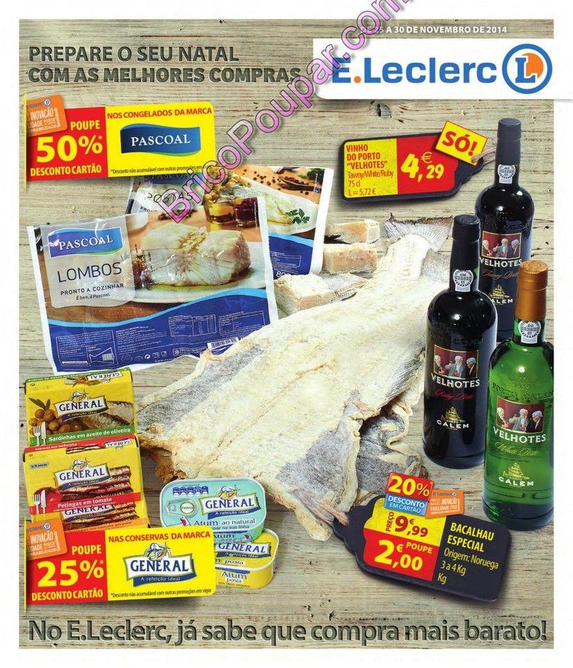 Antevisão Promoções Folhetos E.leclerc - a partir de 25 de Novembro