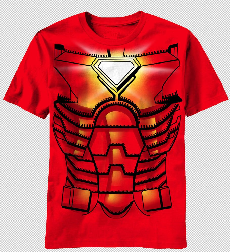 Marvel Kids Boys Avengers Iron Man Hulk T-Shirt
