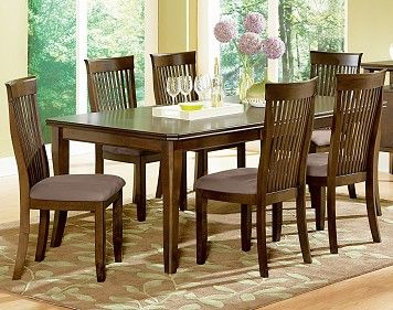 Watson Dinette The Room Place Table 6 Chairs 800 Oak Dining Sets Dining Table With Leaf Rectangular Dining Table