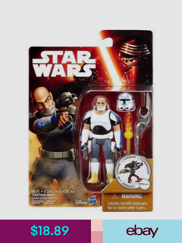 "Hasbro Star Wars W1 Force Awakens 3.75/"" # First Order Stormtrooper Action Figure"