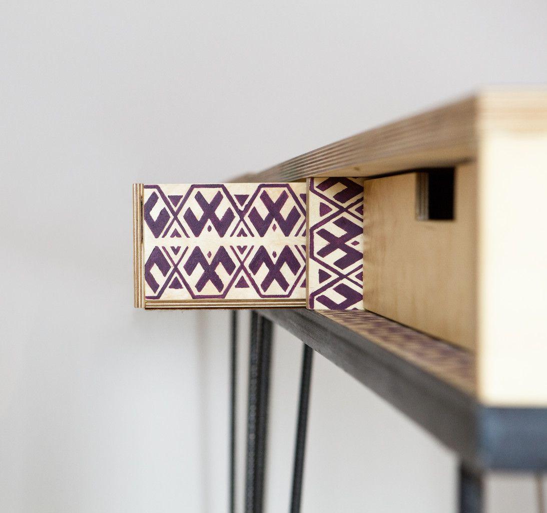 adaptable-project 120_work  Detail Muster Schulade individuell Holz Stahl Möbel Design detail pattern drawer individual furniture design wood steel