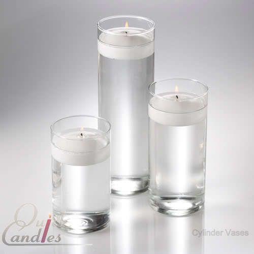 Eastland Glass Cylinder Vases 3 Sizes Set Of 36 Glass Cylinder