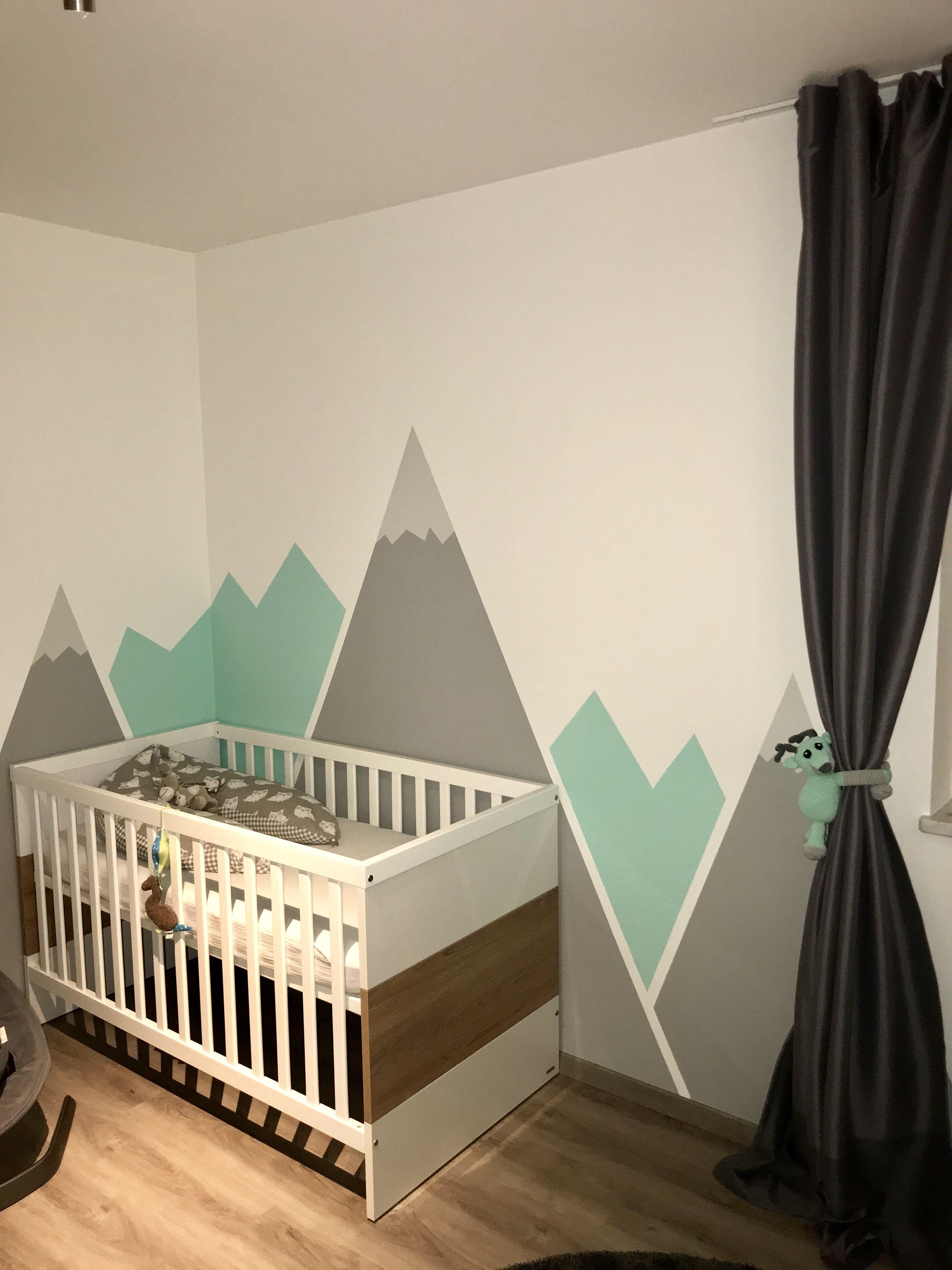 Kinderzimmer Mint Grau Kinder zimmer, Kinderzimmer