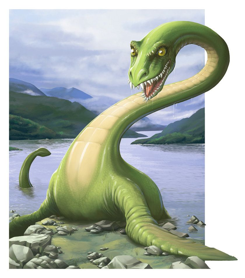 Nessie Loch Ness Monster Loch Ness Monster Creative Advertising Advertising Design