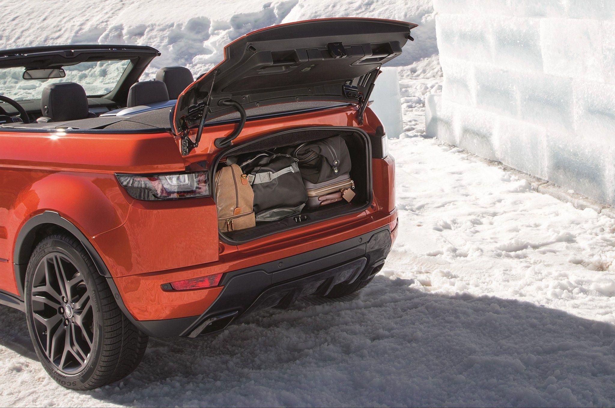 2017 Range Rover Evoque Convertible First Look Land