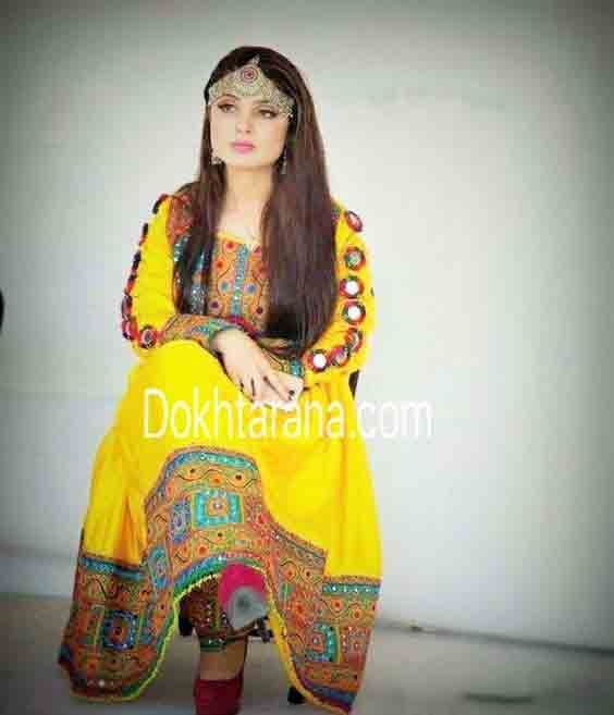 2a111665b37 Best Pakistani Pathani Frock Designs For 2018 in 2018