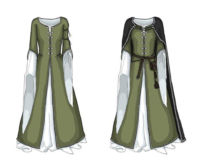 medeltidsklänning