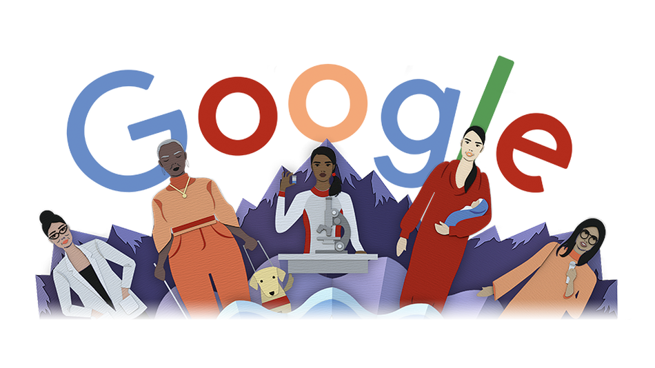 Google debuts new Doodle for International Women's Day It