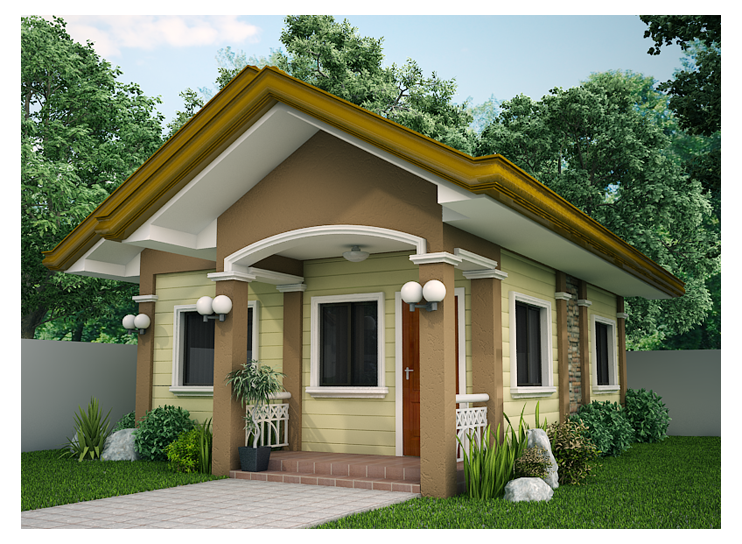 Small House Designs Shd 2012001 Shd 2012001 Is My First Post For Category Small House In 2020 Small House Design Philippines Bungalow House Design Small House Layout