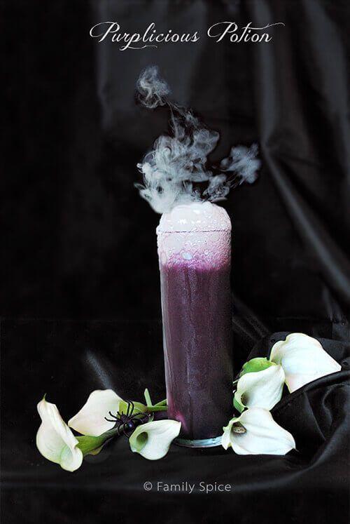 purplicious potion halloween drinkshalloween
