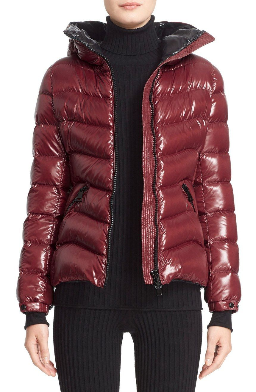 25999585b real burgundy moncler jacket 5b9ba 22748