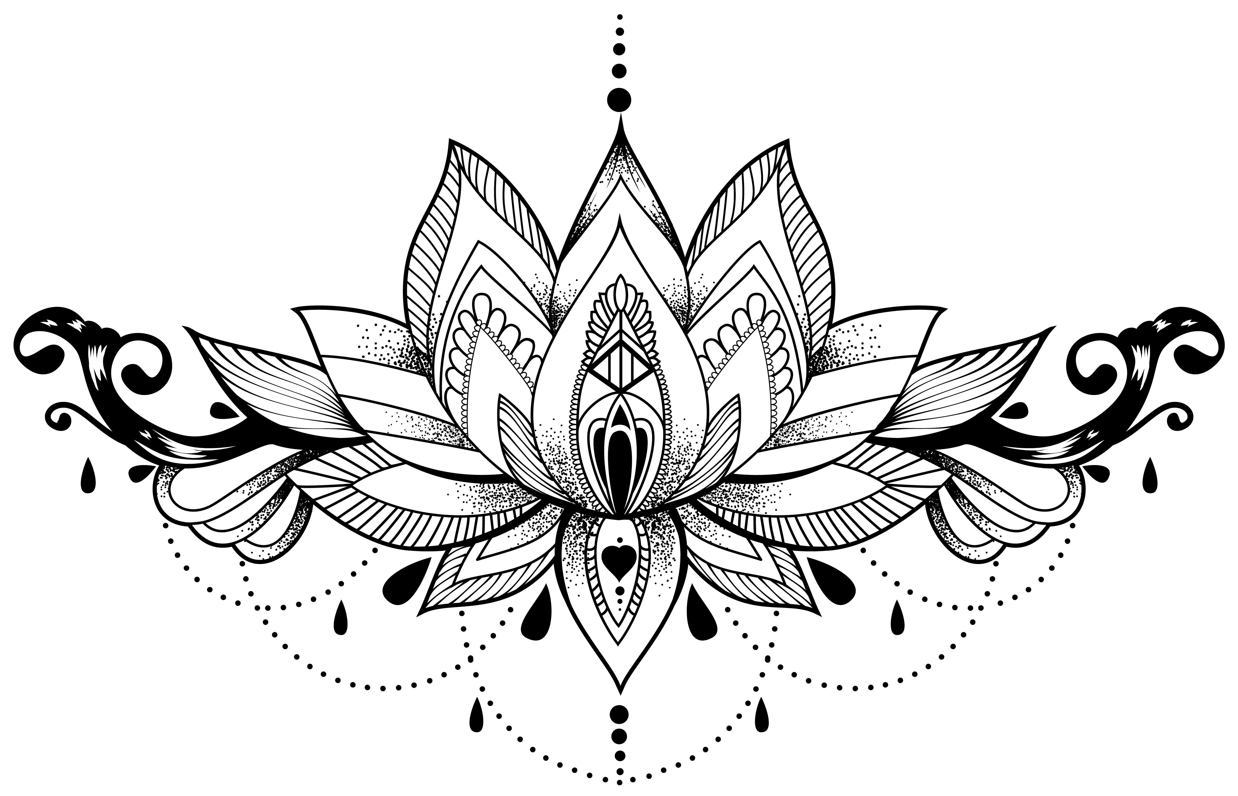 Lotus Chandelier Lotus Tattoo Design Lotus Flower Drawing Flower Tattoo Drawings