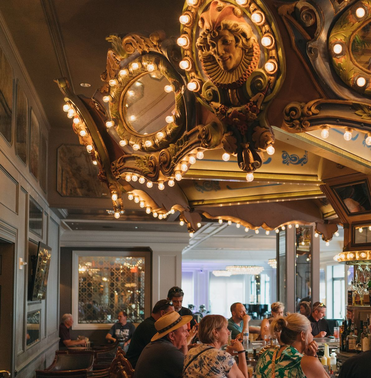 Come Wind Down At The Carousel Bar