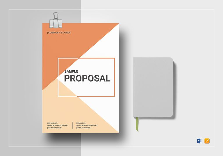 Basic Proposal Outline Template File Size Proposals And Outlines