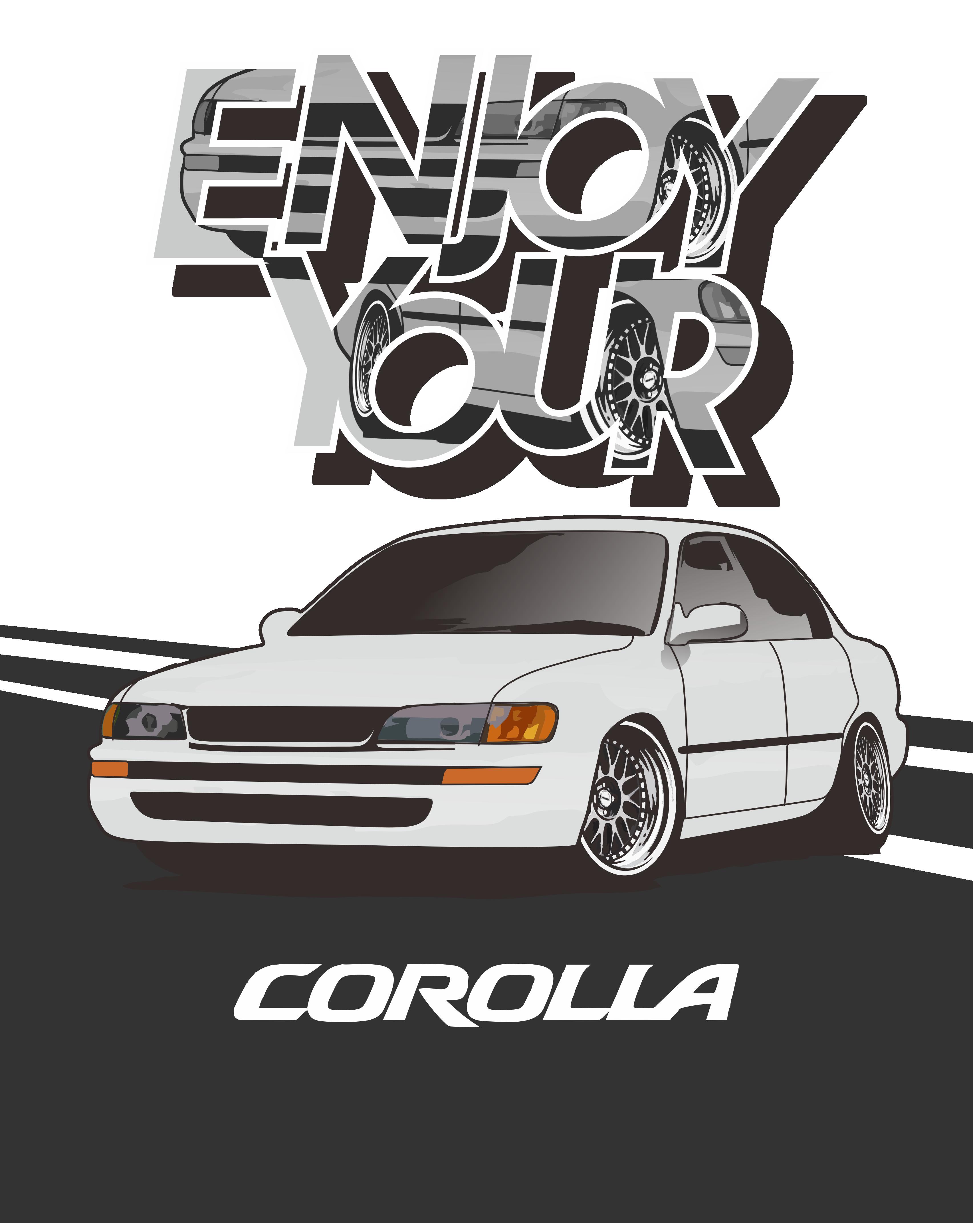 Enjoy Your Corolla Ae101 In 2020 Toyota Corolla Corolla Rims For Cars