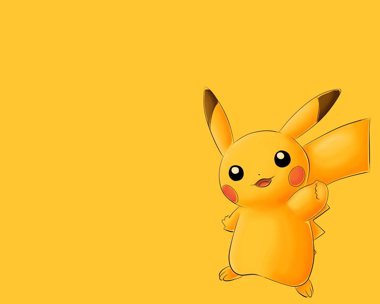 Cute Pikachu Wallpaper Pikachu Wallpaper Pikachu Cute Cartoon Wallpapers Cute anime pokemon wallpaper