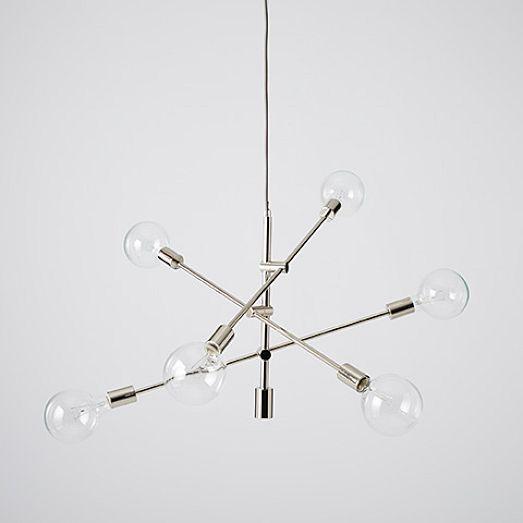 Mobile Chandelier Grand | west elm | Led chandelier