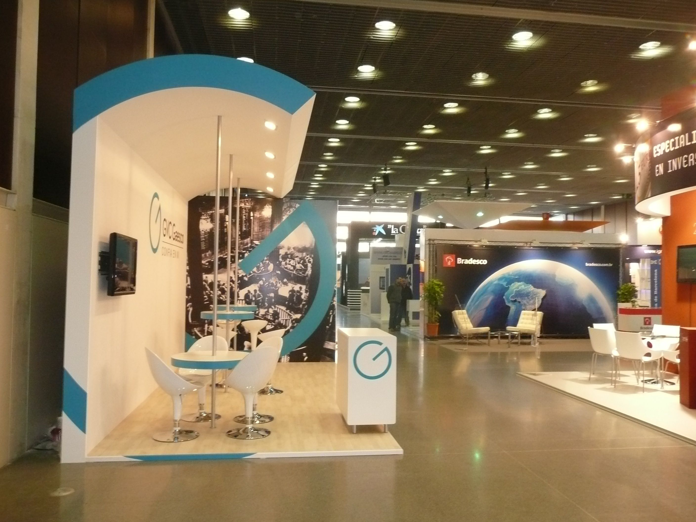 Exhibition Stand Europe : Stand by servis borsadiner builder barcelona